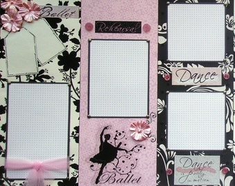 Special 20 custom 8x8 scrapbook pages U pick the theme