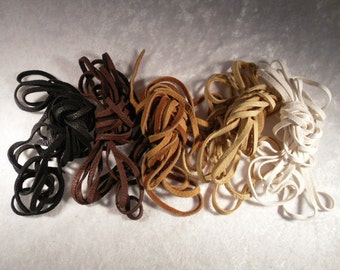 Leather Laces for OASIS Sandals Lace-up Sandals, Deerskin