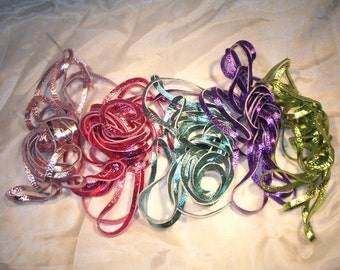 Leather Laces for Bella Caribe, Oasis and Tahitian Lace Up Sandals, Metallics