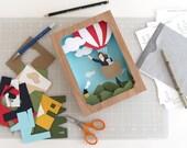 Balloon Adventure - Shadow Box Kit