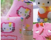 Hello Kitty Pompom Mascot and Knit and Crochet Goods