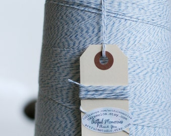 100 yds of Light BLue Bakers Twine