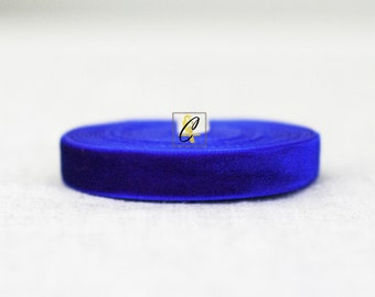 Wholesale 10 yd roll of Royal Blue Velevet Ribbon