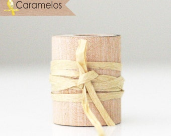 Wholesale 100 yards of Mocha paper raffia ribbon/twine