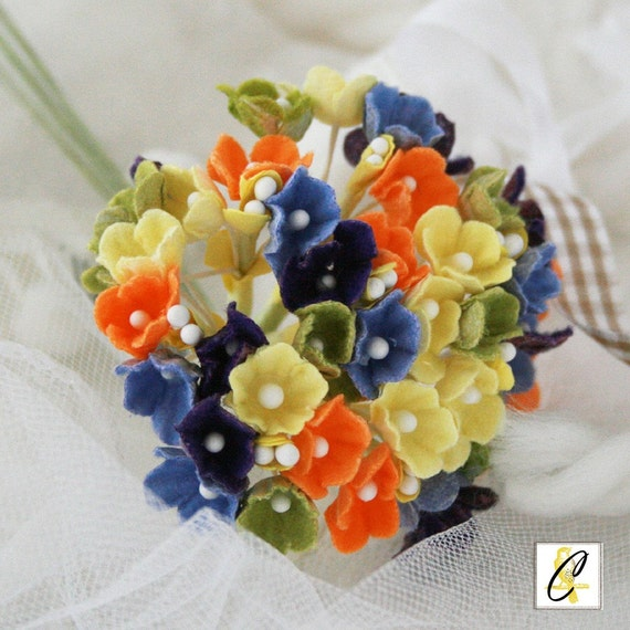 Fall mix Forget Me Not Flowers