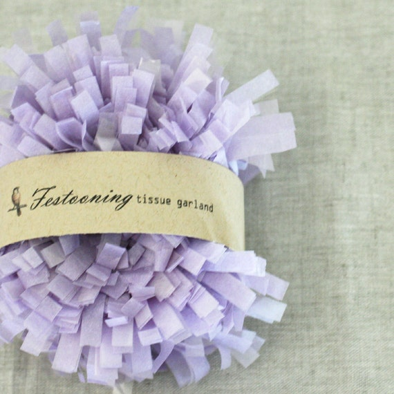 Wholesale 8 yard roll of Gumdrop Tissue Fringe Trim