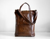 Briefcase in Canyon Brown Leather - Ready to Ship
