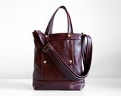 Packet in Merlot Leather - LAST ONE - Made to Order - RESERVED