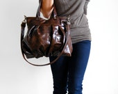 Mini Ruche Bag in Coffee Bean Leather - Made to Order