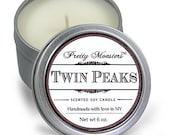 Twin peaks eco soy candle 6 oz.