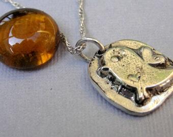 Twitter Bird Necklace Jewelry Sterling Silver