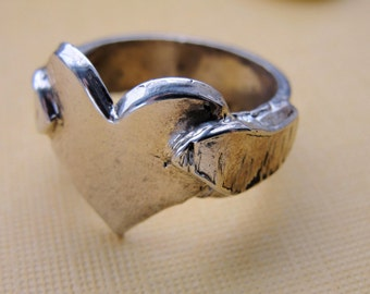 Heart Wings Ring Jewelry Sterling Silver