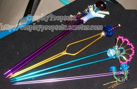 Lulu's Hairsticks FFX cosplay set