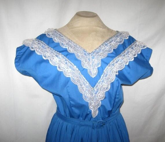Vintage Full Circle 50s 60s Miami Swing Rockabilly Dress