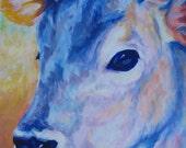 Jersey Bell- Print Of My Original Acrylic Painting 8 x 10