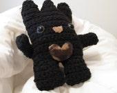 Black Crochet Yet-Ti