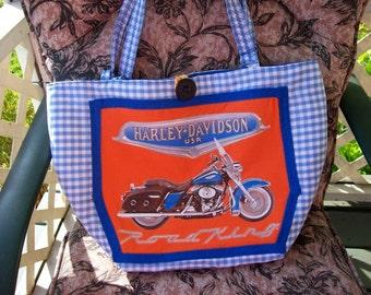 Biker Diaper/Tote Bag