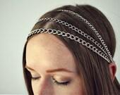 Silver Streams Headpiece