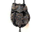 Vintage 1980 Grace Jones Im So High Beaded Formal Evening Bag