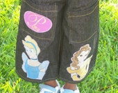 Enchanted Princess Denim Capris Sizes 4-8