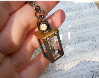 Magic Fairy Lantern necklace