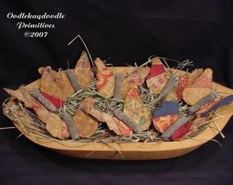 Butterfly Bowl Filler Tucks
