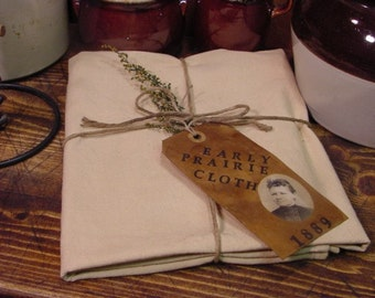 Prairie Cabin Buttery Cloth Peg Hanger Cubbie Tuck  ET