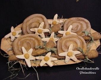 Garden Snails and Daisies Bowl Filler Instant Digital Download E Pattern ET