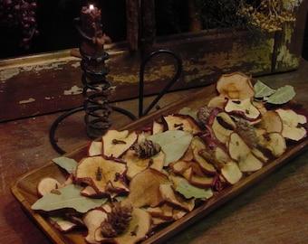 Dried Apple Slices Harvest Bowl Filler Fall Tucks