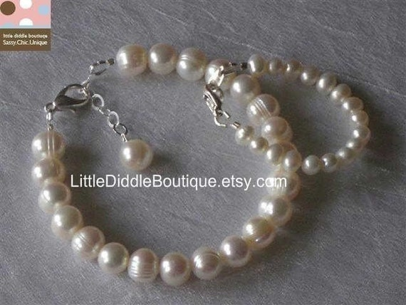 ADDISON Mommy and Me Freshwater Pearl Bracelets