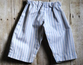 HALF OFF Blue and White Striped Baby Pants