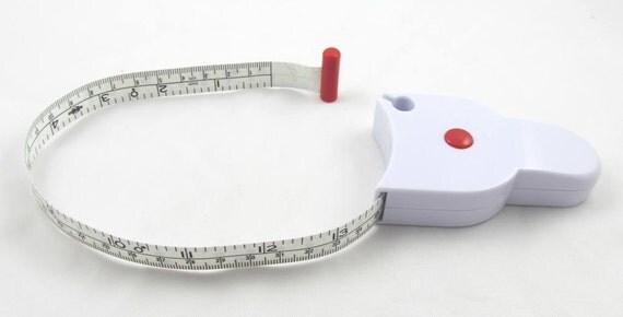 retractable measure yourself body tape measure 60. Black Bedroom Furniture Sets. Home Design Ideas