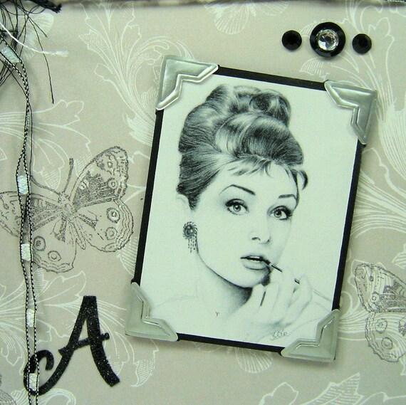 Vintage Audrey Hepburn Greeting Card