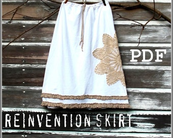 reinvention skirt  instructions pdf