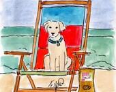 Beach Chair Doggie