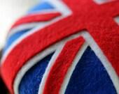 Union Jack Cocktail Hat Fascinator Flag UK GB