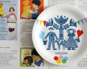 One folklore & fun plate made to order