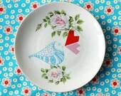 Lovebird small plate