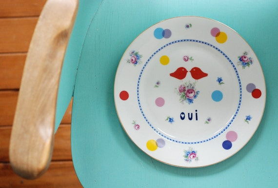Oui plate ready to ship