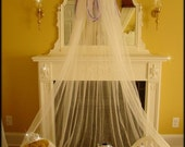 Bed Canopy Crown Tent Ring Fairy Princess SHEERS INCLUDED Dress Up Pink Lavender Blues SaLe