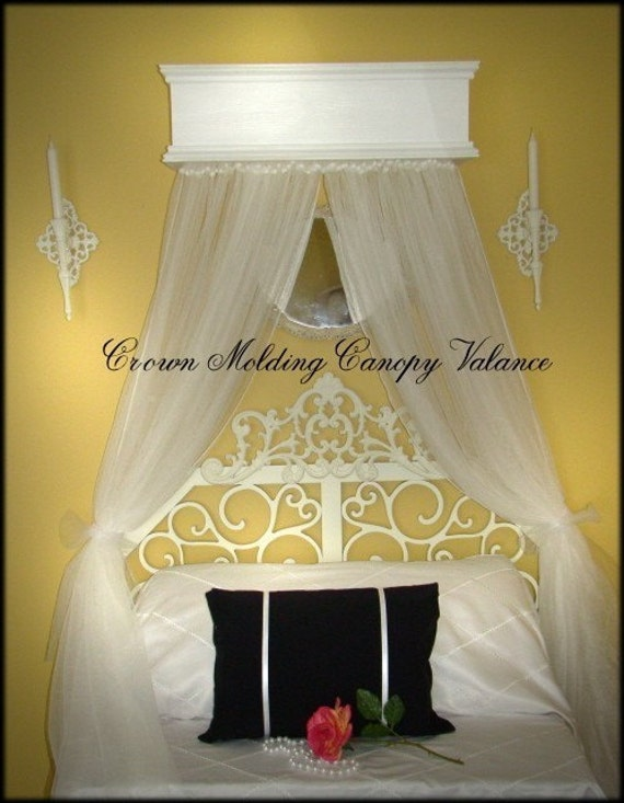 Window Or Bed Valance Custom Cornice Canopy By Sozoeyboutique