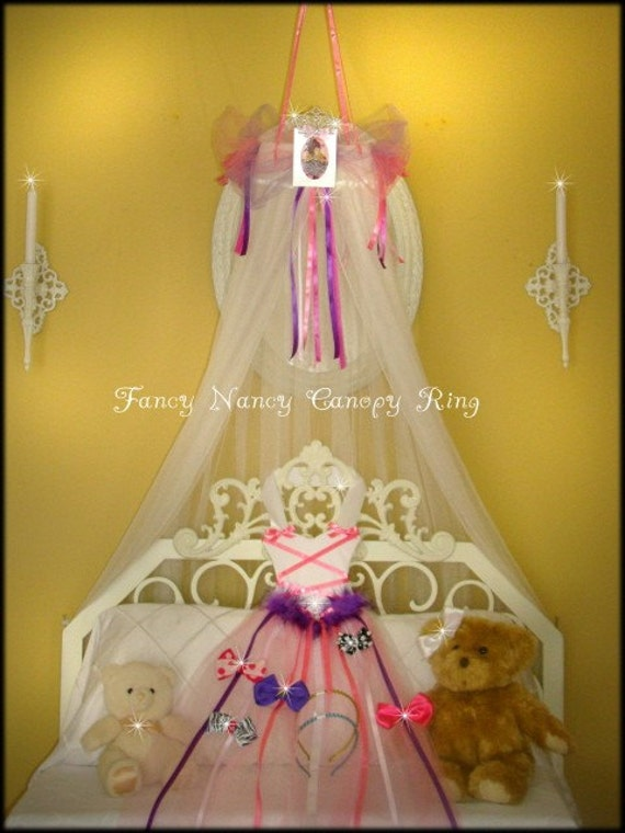 FaNcY NaNcY Bedroom canopy tent crown Fairy Ring SALE PRINCESS
