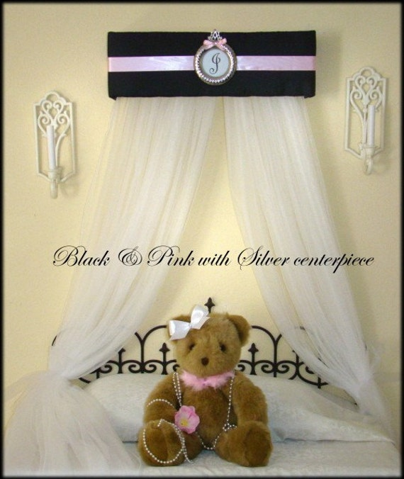 Bed canopy with drapes sale princess by sozoeyboutique on etsy - Canopy bed curtains for sale ...