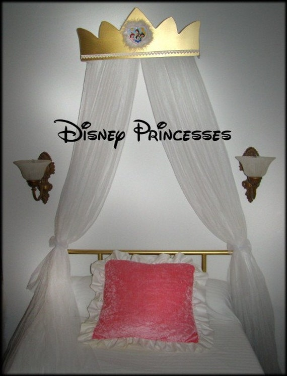 Disney Princess Bed Canopy Mesh Mosquito Net