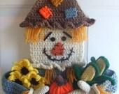 Crochet Pattern Scarecrow Door Hanging