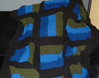 Cozy Afghan, Oregon Style (pattern only)