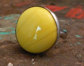 Sunny Yellow Soldered Ring