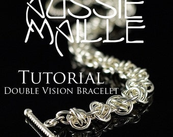 Chainmaille Tutorial - Double Vision Chain Maille Bracelet
