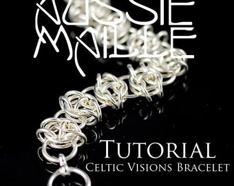 Chainmaille Tutorial - Celtic Visions Chain Maille Bracelet