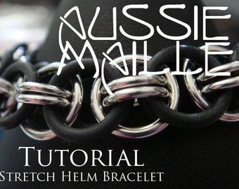 Chainmaille Tutorial - Stretchy Helm Weave Bracelet